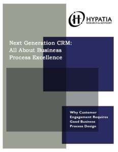 Customer Engagement Intelligence Doesn't Reside Only in a CRM Application